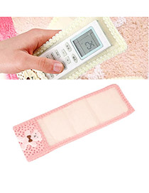Bespoke Pink Lovely Bear Lace Design Cloth Household goods