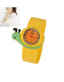 Ferret Yellow Snail Alloy Fashion Watches