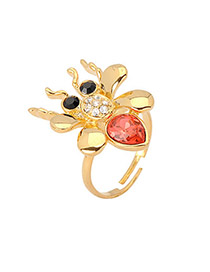 Guardian Gold Color Spider Alloy Fashion Rings