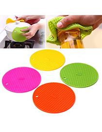 Homecoming Color Will Be Random Round Shape Insulation Silicone Household goods