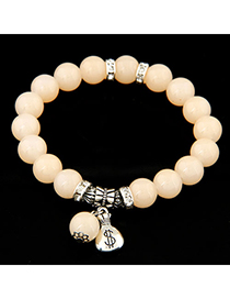 Nice beige simple design alloy Korean Fashion Bracelet