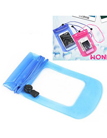Preppy Color Will Be Random Square Shape Transparent Design PVC Household goods
