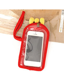Free Red Crown  Touch Screen Design Velvet Iphone 5 5s