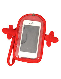 Promise Red Hug Shape Touch Screen Design Velvet Iphone 5 5s