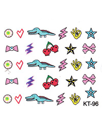 2011  3D Cartoon Whales&Cherry Design