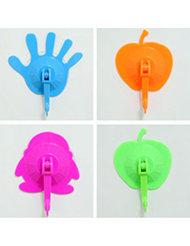 Winding Color Will Be Random candy color palm shape no-trace design ABS Household goods