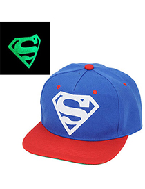 Latest blue printing diamond decorated simple design canvas Baseball Caps