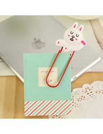 Famale White Bear Shape Simple Design Silicon Other Creative Stationery