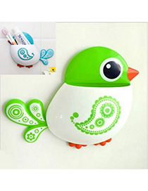 Bridal Green Bird Shape Simple Design Plastic Household Goods