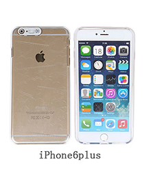contracted Transparent White Heart Pattern Simple Design Pc Iphone 6 Plus