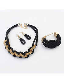 Fashion Gold Color Crown&turtle Shape Decorated Jewelry Sets