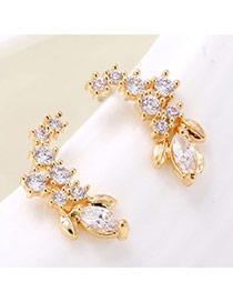 Trendy Gold Color Triangle Pendant Decorated Simple Design Alloy
