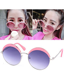 Popular Pink Thin Leg Round Frame Design