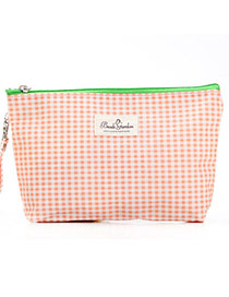 Fashion Beige Grid Pattern Simple Design  Waterproof Cloth Home Storage Bags