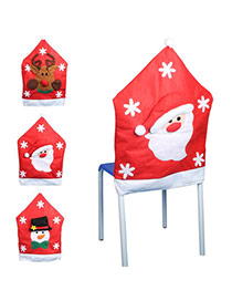 Personalized Red Santa Claus Pattern Decorated Simple Design