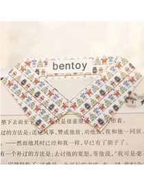 Personality Multi-color Robot Pattern Decorated Collar Shape Design  Alloy Other Creative Stationery