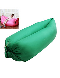 Fashion Green Pure Color Decorated Simple Design Fabric Household goods