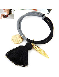 Fashion Multi-color Multielement Pendant Decorated Color Matching Simple Design Hairband