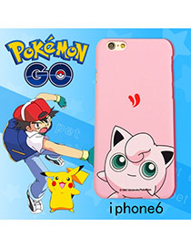 Cute Pink Monster Shape Pattern Decorated Ipone6s Cases
