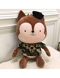 Lovely Coffee Wolf Shape Design Simple Doll Dots Descendants Of The Sun