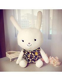 Lovely White Rabbit Shape Design Simple Doll Dots Descendants Of The Sun