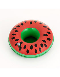 Lovely Red Watermelon Pattern Decorated Simple Cup Holder Household Goods