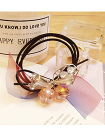 Elegant Multi-color Flower&bowknot Decorated Multi-layer Simple Hair Band
