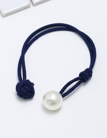 Fashion Navy Double Layer Hair Band