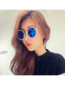33c51d67450ed Creative Silver Color Round Frame Simple Design Resin Women Sunglasses   No. C18133. 5 ( 0 ) Write a review. List Price  US  5.07. Color  Quantity